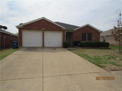 Seagoville Single Family Home Active Option Contract: 108 Oakhurst Drive