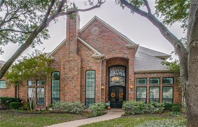 Plano Single Family Home Active Option Contract: 3432 Mount Vernon Way