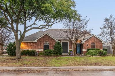 Waxahachie Single Family Home Active Option Contract: 707 E University Avenue