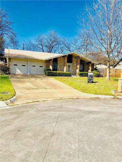 North Richland Hills Single Family Home Active Option Contract: 5633 Galway Lane