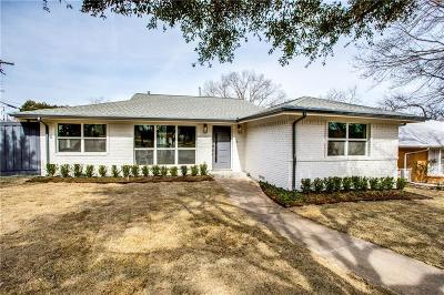 Dallas Single Family Home For Sale: 7145 Wildbriar Drive