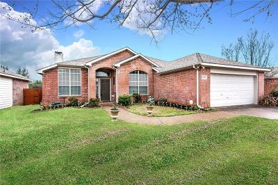 Corinth TX Single Family Home Active Option Contract: $255,000
