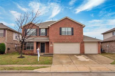 Fort Worth Single Family Home Active Option Contract: 8809 Graywolf Ridge Trail