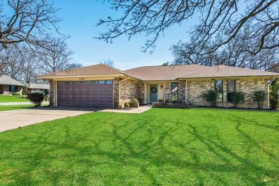 Mansfield Single Family Home Active Option Contract: 1026 Westminster Lane