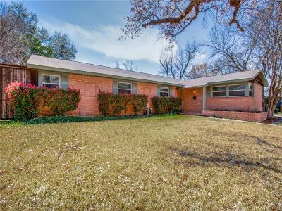 Dallas Single Family Home For Sale: 3522 Woodleigh Drive