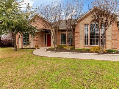 Hurst Single Family Home Active Option Contract: 732 Bent Tree Court