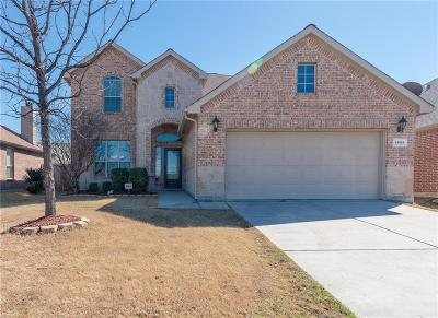 Frisco Single Family Home For Sale: 4609 Hidden Pond Drive