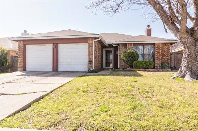 Arlington Single Family Home For Sale: 504 Valley Mills Drive