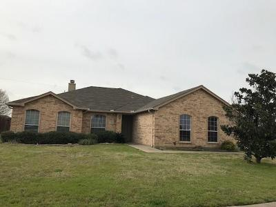 Midlothian Single Family Home Active Option Contract: 1326 Delaware Drive