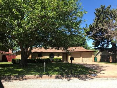 Young County Single Family Home For Sale: 1504 Hillcrest Drive