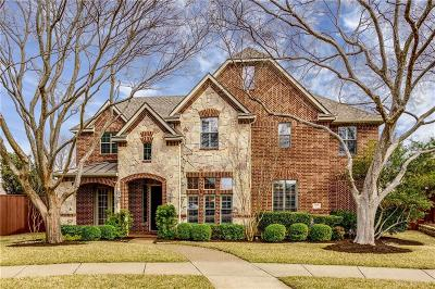 Plano Single Family Home Active Option Contract: 8008 Brentwick Circle