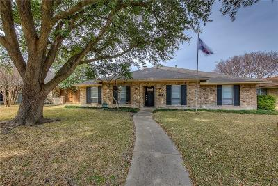 Richardson Single Family Home Active Option Contract: 1115 Morningstar Trail