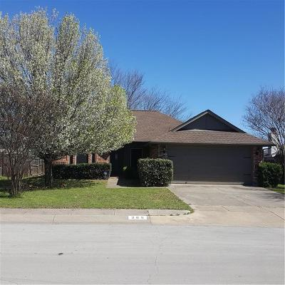 Archer County, Baylor County, Clay County, Jack County, Throckmorton County, Wichita County, Wise County Single Family Home Active Option Contract: 205 Troxell Boulevard