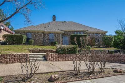 Carrollton Single Family Home Active Option Contract: 1728 Big Canyon Trail