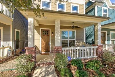 Coppell Single Family Home For Sale: 723 Hammond Street