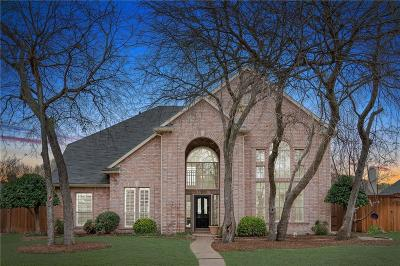 Frisco Single Family Home Active Option Contract: 11608 Meridian Drive