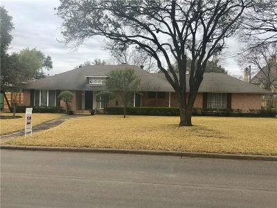 Dallas County Single Family Home Active Option Contract: 5960 Williamstown Road