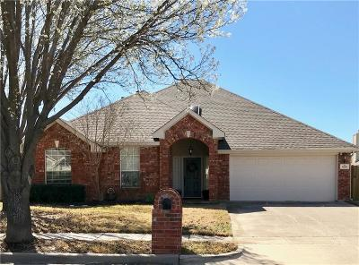 Keller Single Family Home Active Option Contract: 608 Ashwood Drive