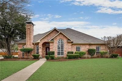 Allen Single Family Home Active Option Contract: 1223 Rainforest Lane