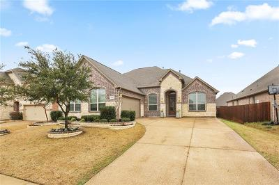 Frisco Single Family Home Active Contingent: 9640 Robinwoods Drive