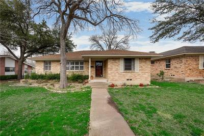 Dallas Single Family Home For Sale: 5611 Meadowick Lane
