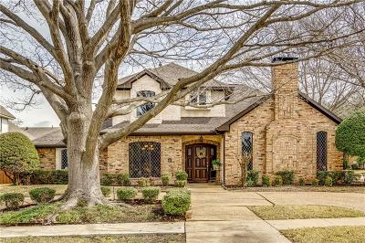 Plano Single Family Home Active Option Contract: 4000 Hancock Place