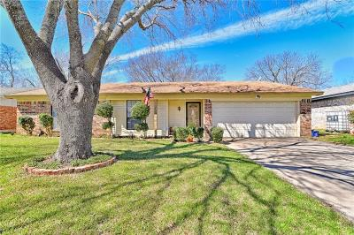 North Richland Hills Single Family Home Active Option Contract: 3717 Holland Drive