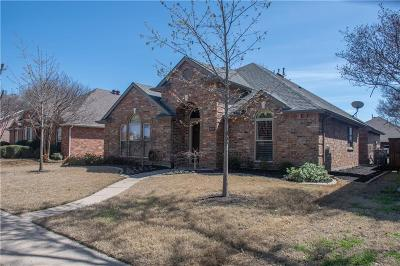 Frisco Single Family Home Active Option Contract: 11709 Charlotte Lane