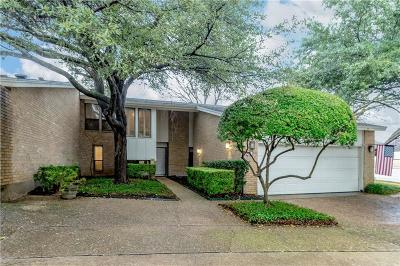 Townhouse For Sale: 3700 Hulen Park Drive