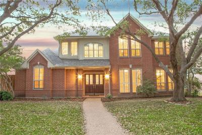 Plano Single Family Home Active Option Contract: 6805 Patrick Lane