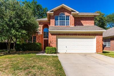 Flower Mound Single Family Home Active Option Contract: 1921 Torrey Pine Drive