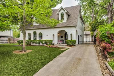 Dallas Single Family Home For Sale: 6308 Belmont Avenue