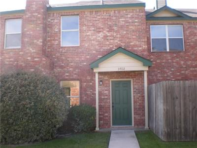 Garland Townhouse Active Option Contract: 3702 Clubview Drive