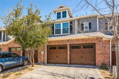 McKinney Townhouse Active Option Contract: 600 Dean Place