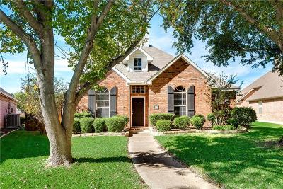 Plano Single Family Home Active Option Contract: 8217 Bulrush Drive