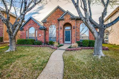 The Colony Single Family Home Active Option Contract: 5645 Overland Drive