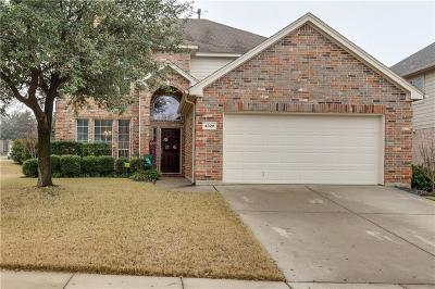 Fort Worth Single Family Home Active Option Contract: 4328 Finch Drive