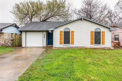 Grand Prairie Single Family Home Active Option Contract: 2306 Aggie