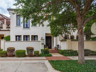 Fort Worth Townhouse For Sale: 2617 Museum Way