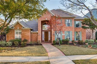 Coppell Single Family Home For Sale: 610 Lake Park Drive