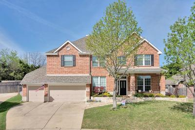 Grapevine Single Family Home For Sale: 801 Water Oak Drive