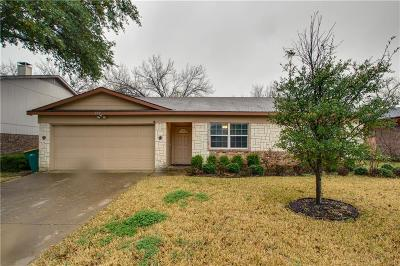 Lewisville Single Family Home Active Option Contract: 828 Foxwood Place