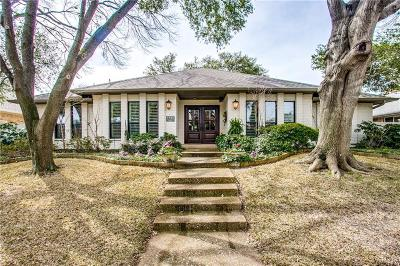 Single Family Home Active Contingent: 6424 Barkwood Lane