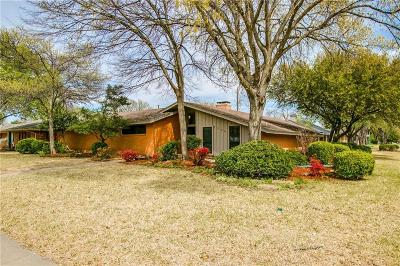 Richardson Single Family Home Active Option Contract: 1300 N Cottonwood Drive