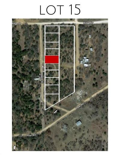 Montague County Residential Lots & Land For Sale: Lot 15 Maple