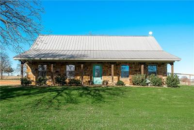 Archer County, Baylor County, Clay County, Jack County, Throckmorton County, Wichita County, Wise County Single Family Home For Sale: 284 County Road 1348