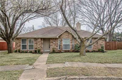 Rowlett Single Family Home Active Option Contract: 2221 Tangleridge Lane