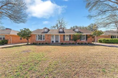Dallas Single Family Home Active Option Contract: 7054 Whitehill Street