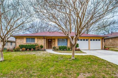 Plano Single Family Home Active Option Contract: 1013 Ridgefield Drive