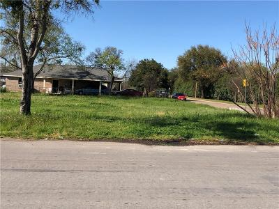 Dallas Residential Lots & Land Active Option Contract: 3717 Savage Street